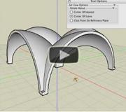 formZ Thicken tool